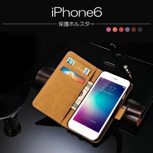 iPhone6 ケース 手帳 横開き レザー アイホン 6 /ソフトケース/ソフトカバー カード収納/名  スマートフォン/スマフォ/スマホケース/カバー|keitaiichiba