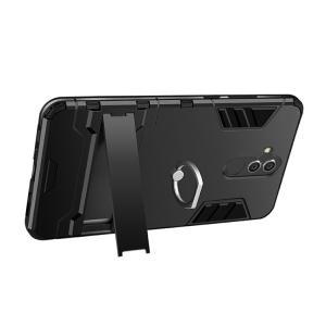Huawei Mate20 lite ケース カバー 耐衝撃 片手持ちに便利なリング付き タフで頑丈 2重構造 スタンド付き ファーウェイ メイト20 ライト 耐衝撃ケース おすすめ|keitaiichiba