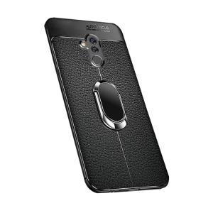 Huawei Mate20 lite ケース/カバー TPU レザー調 メイト20 ライト ソフトケース/カバー リング付き 方手持ち おすすめ おしゃれ アンドロイド ファーウェイ ハー|keitaiichiba
