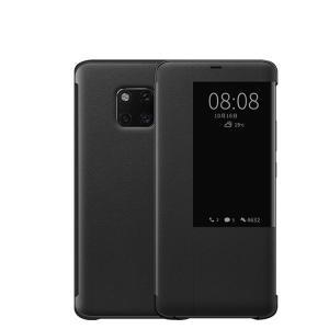 Huawei Mate20 Pro ケース/カバー 手帳型 上質なPUレザー 窓付き オートスリープ機能付き スリム カバーの上から操作 ファーウェイ メイト20 プロ 手帳タイプ レ|keitaiichiba