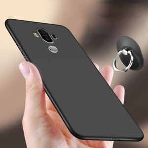 Mate10 Pro ケース TPU  シンプル リング リングブラケット付き かっこいい ファーウェイ / HUAWEI メイト10プロスマートフォン/スマフォ/スマホケース/カバー|keitaiichiba