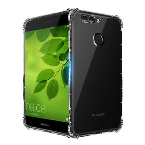 Huawei Nova2 クリアケース TPU 耐衝撃 シンプル かっこいい ノバ2 透明 カバー おすすめ おしゃれ アンドロイ  スマートフォン/スマフォ/スマホケース/カバー|keitaiichiba