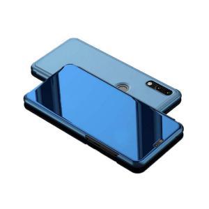 HUAWEI nova3 ケース カバー 2つ折り 液晶 パネル 半透明 スタンド機能  ファーウェイ ノバ 3 ケース おスマートフォン/スマフォ/スマホケース/カバー|keitaiichiba