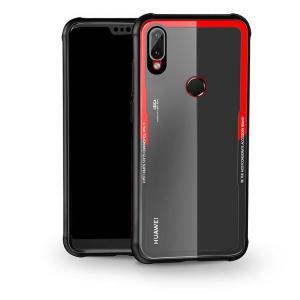 P20 lite ケース TPU バンパー 背面強化ガラス 背面パネル付き かっこいい P20  HWV32 / Huawei / ファーウェイスマートフォン/スマフォ/スマホバンパー|keitaiichiba