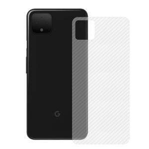 Google Pixel4 / Pixel4XL カーボン調 バックフィルム 背面保護フィルム グーグルピクセル4 / Pixel4XL エッジ保護フィルム|keitaiichiba