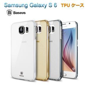ギャラクシー s6 クリアケース tpu ハードケース/ハードカバー galaxy s6 プラス カバー 超薄型 スリムケース    スマートフォン/スマフォ/スマホケース/カバー|keitaiichiba