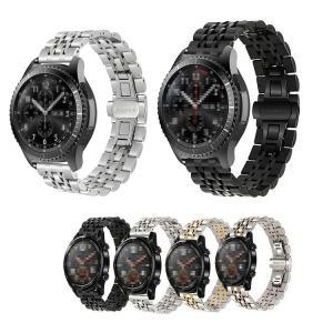 Huawei Watch GT / Watch GT 2 46mm 交換バンド 高級ステンレス ベル...