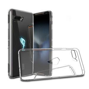 ASUS ROG Phone II ZS660KL クリアケース/カバー TPU シンプル ソフトカ...