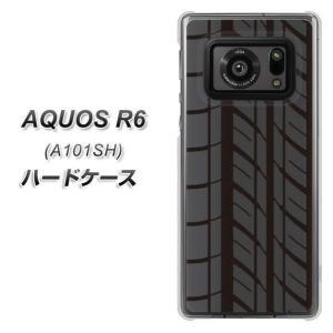 アクオスR6 A101SH ハードケース カバー IB931 タイヤ 素材クリア UV印刷|keitaijiman