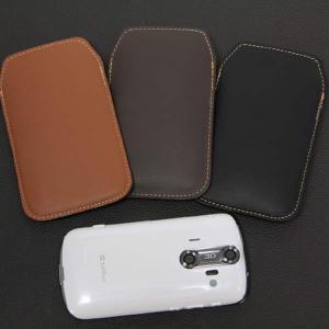 本革スマートフォンケース グローブ革 SH-04E/SH-01E/F-03E/SH-05E/N-02E/iPhone4S/Xperia acro/iPhone5 等 汎用タイプ|keitaijiman