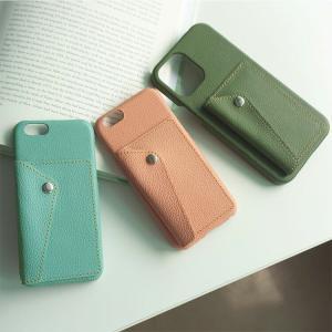 スマホケース 多機種対応 ナチュラルカラー Mild カードポケット付 姫路レザー シュリンクレザー カード入れ カバー iphone SE2 iPhone12 Pro メール便送料無料 keitaijiman