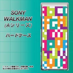 SONY ウォークマン NW-A10シリーズ NW-A10 ハードケース カバー IB916 ブロックアルファベット 素材クリア