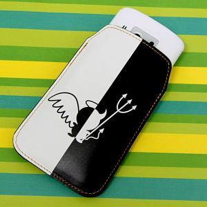 【納期2週間】 本革 レザー スマートフォンケース 027 ハーフデビット Xperia A/Galaxy S4/ARROWS NX/AQUOS PHONE SERIE/iPhone5 等 汎用タイプ keitaijiman