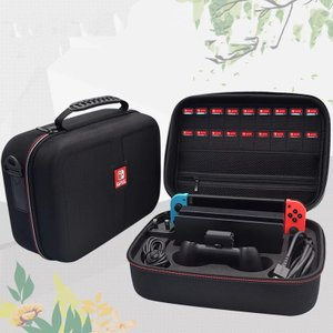 Nintendo Switch ケース ニンテンドースイッチ 大容量 収納 バッグ 全面保護 便利 ...