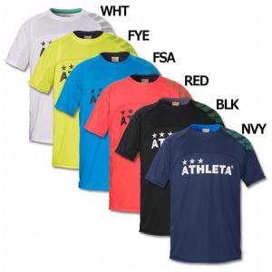 圧倒的な人気を誇るアスレタ、ジュニア用カラープラクティスシャツ。 シンプルなデザインに、左肩のカフェ...