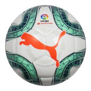 LA LIGA 1 ミニ プーマホワイト×グリーングリマー 【PUMA|プーマ】サッカーボール1号球...