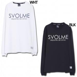 長袖ロゴロングTシャツ 【SVOLME|スボルメ】サッカーフットサルウェアー1193-30800