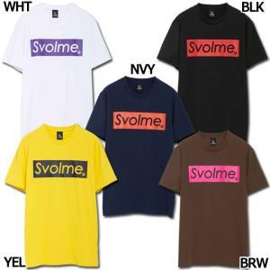 半袖 BOXロゴTシャツ 【SVOLME|スボルメ】サッカーフットサルウェアー1201-48600