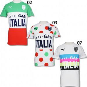 イタリア代表 アズーリカルチョ 半袖Tシャツ 【PUMA|プーマ】ナショナルチームウェアー749125|kemari87