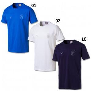 FIGC AZZURRI 半袖Tシャツ 【PUMA|プーマ】サッカーフットサルウェアー752607