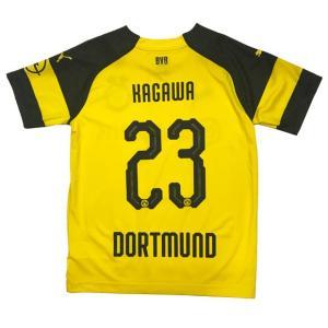 ドイツ・ブンデスリーガの強豪、ボルシア・ドルトムント、18-19年シーズンモデル、ホーム用レプリカユ...