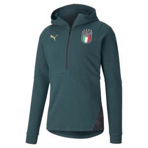 イタリア代表 FIGC カジュアルフーディ ポンデローザパイン 【PUMA|プーマ】ナショナルチーム...