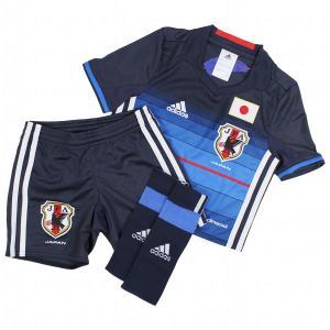 アディダス サッカー日本代表 2016 ホーム ミニキット 【adidas|アディダス】サッカー日本代表ジュニアレプリカウェアーaan04-aa030|kemari87