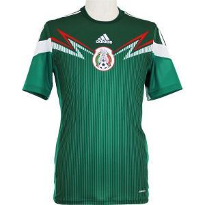 メキシコ代表 2014 ホーム 半袖オーセンティックユニフォーム 【adidas|アディダス】ナショナルチームレプリカウェアーad589-g86986|kemari87