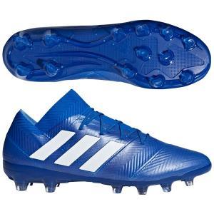 ネメシス 18.2-ジャパン HG/AG フットボールブルー×ランニングホワイト 【adidas アディダス】サッカースパイクbb6982