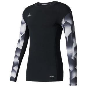 TANGO CAGE ベースレイヤーロングスリーブシャツ ブラック 【adidas|アディダス】サッカーフットサルウェアーbwo31-az6078