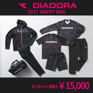DIADORA 2017 福袋 ブラック 【diadora|ディアドラ】サッカーフットサルウェアーdfp7109|kemari87