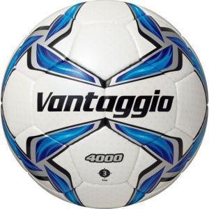 ヴァンタッジオ4000 3号球 シャンパンシルバー×ブルー 【molten|モルテン】サッカーボール3号球f3v4000|kemari87