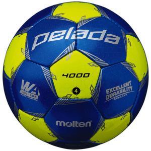 ペレーダ 4000 ブルー×イエロー 【molten|モルテン】サッカーボール4号球f4l4000-...