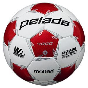 モルテン、サッカーボール4号球。 ペレーダシリーズの小学生規格ボール。 ◆JFA検定球 ◆縫い ◆人...
