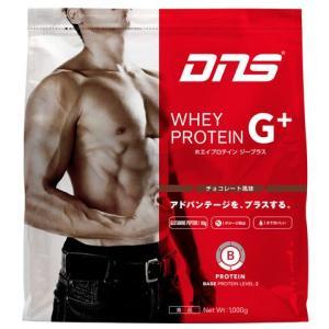 ホエイプロテイン G+/チョコレート風味 1000g 【DNS|ディーエヌエス】サッカーフットサルサプリメントgplus2014choco|kemari87