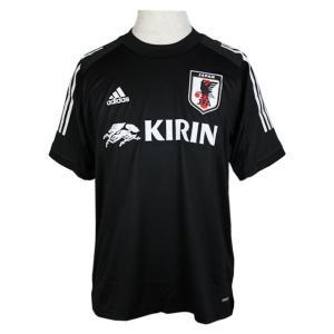 サッカー日本代表 トレーニングジャージー ブラック 【adidas アディダス】サッカー日本代表ウェ...