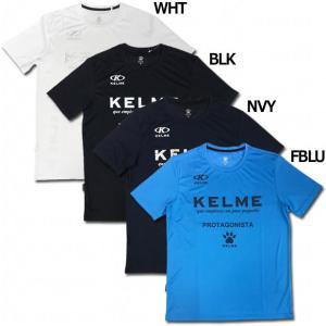 半袖プラクティスシャツ 【KELME|ケルメ】サッカーフットサルウェアーkg19s505