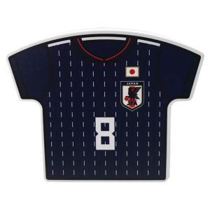 サッカー日本代表、マグネット付きクリップ。 定番のサポーターズアイテム。ユニフォーム型のクリップマグ...
