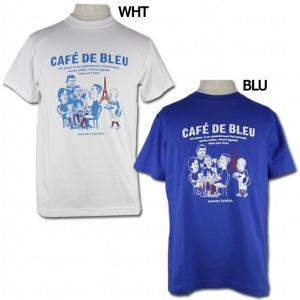 ストリートサッカーをコンセプトに展開するサッカージャンキー、半袖Tシャツ。 イラストレータ・JERR...