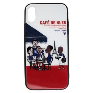 ストリートサッカーをコンセプトに展開するサッカージャンキー、iPhone専用カバー。 イラストレータ...