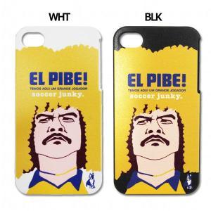 EL PIBE iPhoneケース 【SoccerJunky|サッカージャンキー】サッカーフットサル...