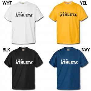 半袖プラクティスTシャツ 【ATHLETA|アスレタ】サッカーフットサルウェアー02331|kemarifast