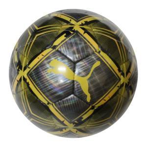 スピンボール SC プーマブラック×ウルトライエロー 【PUMA|プーマ】サッカーボール4号球083429-02-4|kemarifast