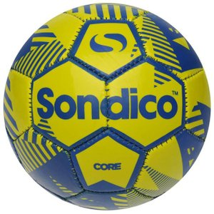 コア XT ミニフットボール イエロー×ブルー 【Sondico|ソンディコ】サッカーボール1号球822016-13-1|kemarifast