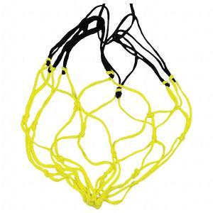 ボールネット 1個入れ レモン×ブラック 【molten|モルテン】サッカーフットサルボールバッグbndl|kemarifast