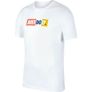 JDI バンパー 半袖Tシャツ ホワイト 【NIKE|ナイキ】サッカーフットサルウェアーck2306-100|kemarifast