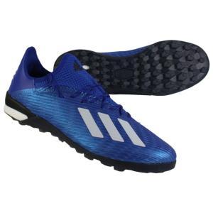 エックス 19.1 TF チームロイヤルブルー×フットウェアホワイト 【adidas|アディダス】サッカーフットサルトレーニングシューズeg7136|kemarifast