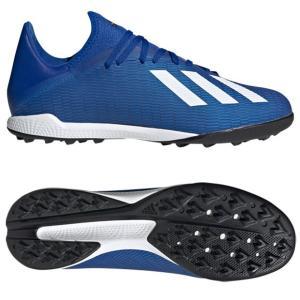 エックス 19.3 TF チームロイヤルブルー×フットウェアホワイト 【adidas|アディダス】サッカーフットサルトレーニングシューズeg7155|kemarifast