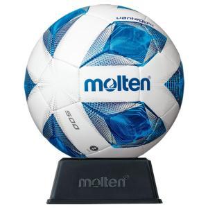 ヴァンタッジオ サインボール ホワイト×ブルー 【molten|モルテン】サッカーボール2号球f2a500|kemarifast