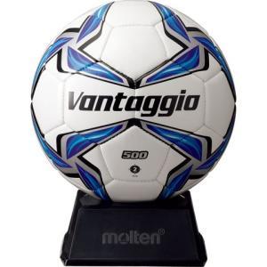 ヴァンタッジオ サインボール ホワイト×ブルー 【molten|モルテン】サッカーボール2号球f2v...